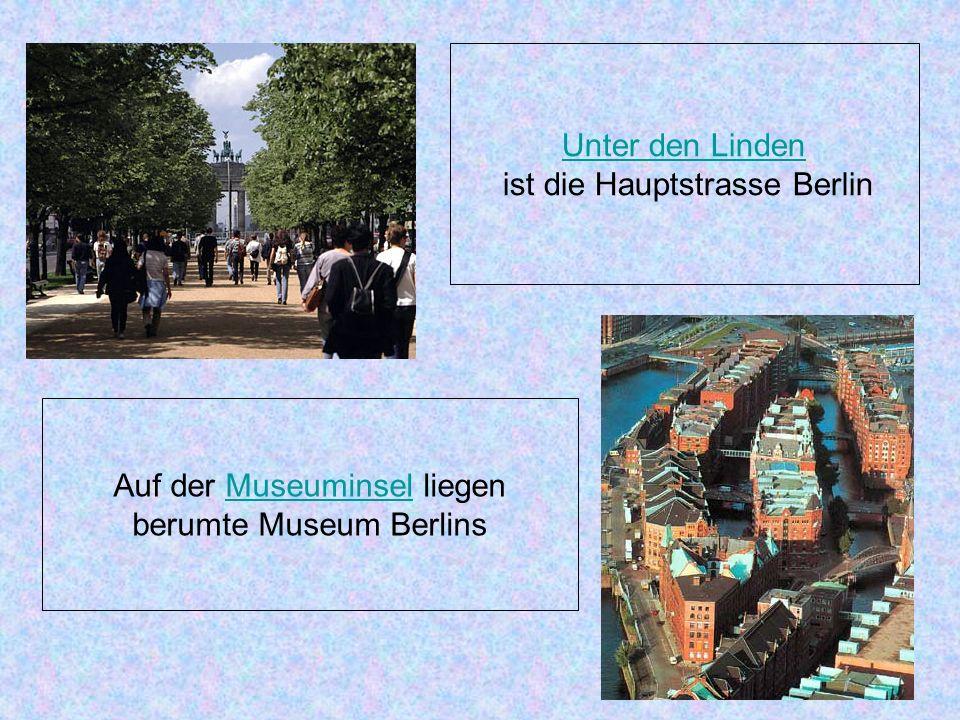 ist die Hauptstrasse Berlin