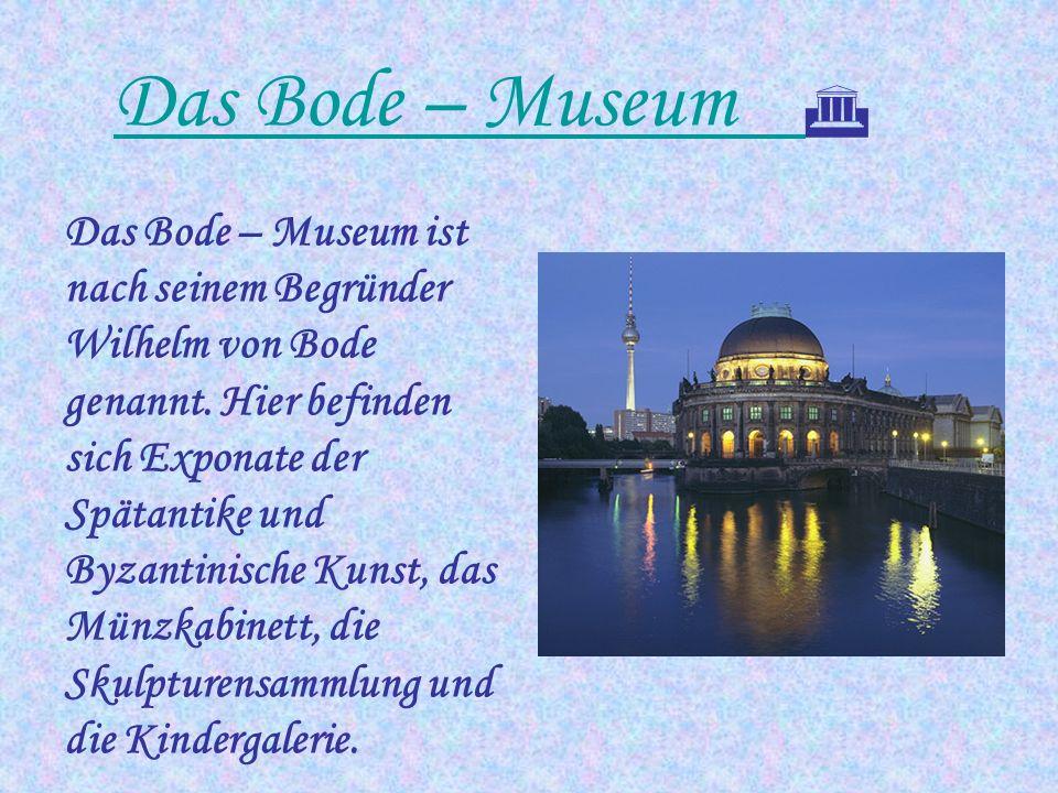 Das Bode – Museum 