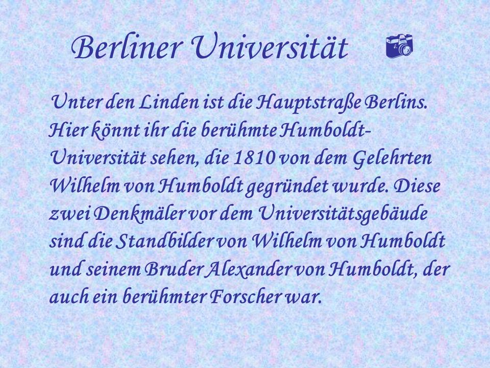 Berliner Universität 