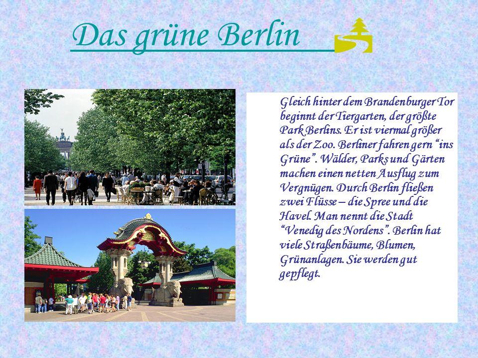 Das grüne Berlin 