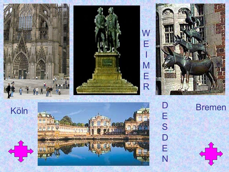 W E I M R D E S N Bremen Köln