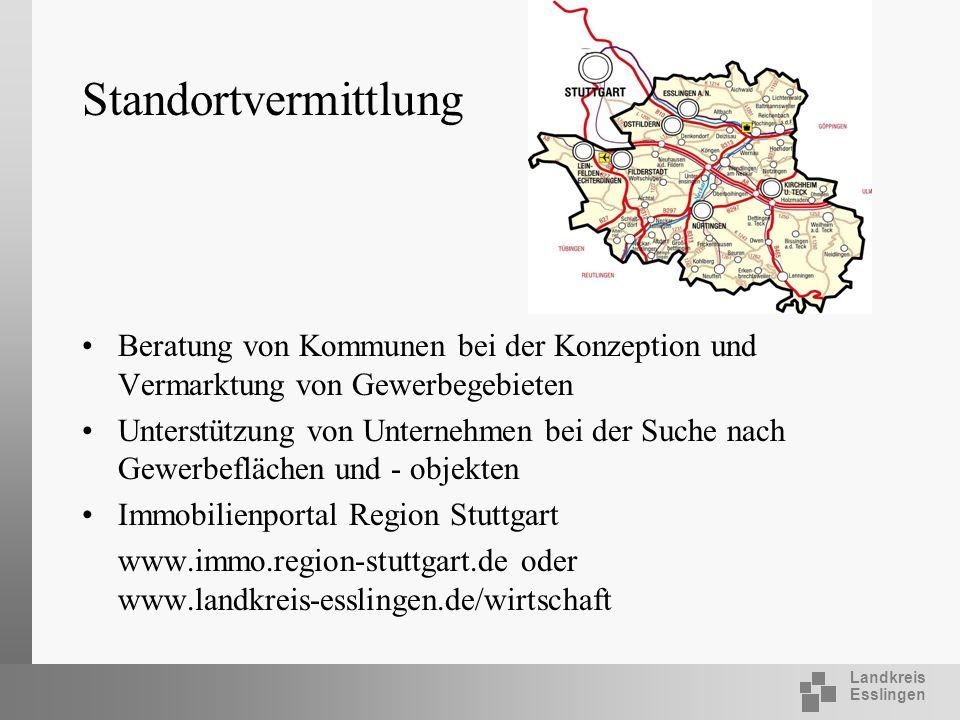 Standortvermittlung Beratung von Kommunen bei der Konzeption und Vermarktung von Gewerbegebieten.