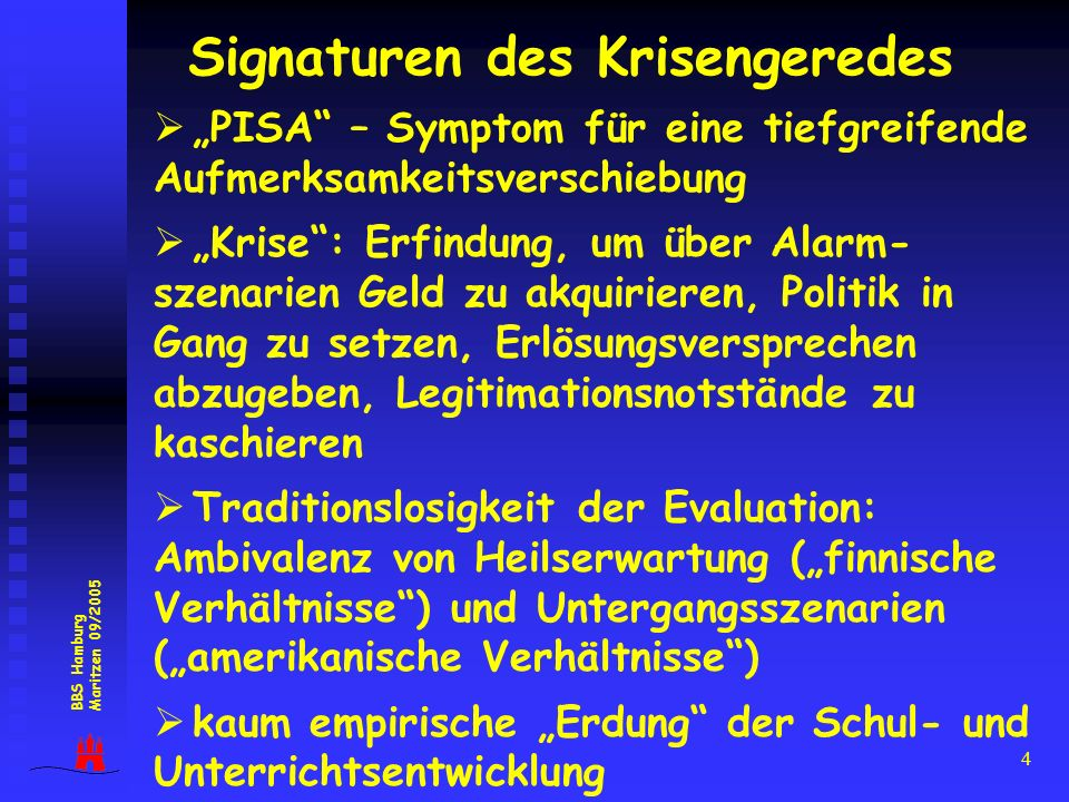 Signaturen des Krisengeredes