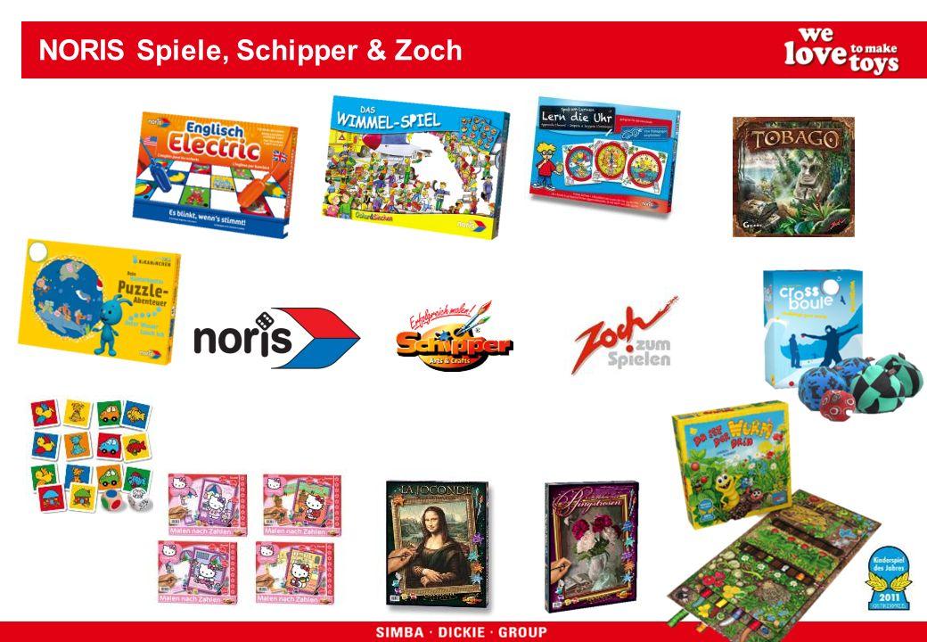 NORIS Spiele, Schipper & Zoch
