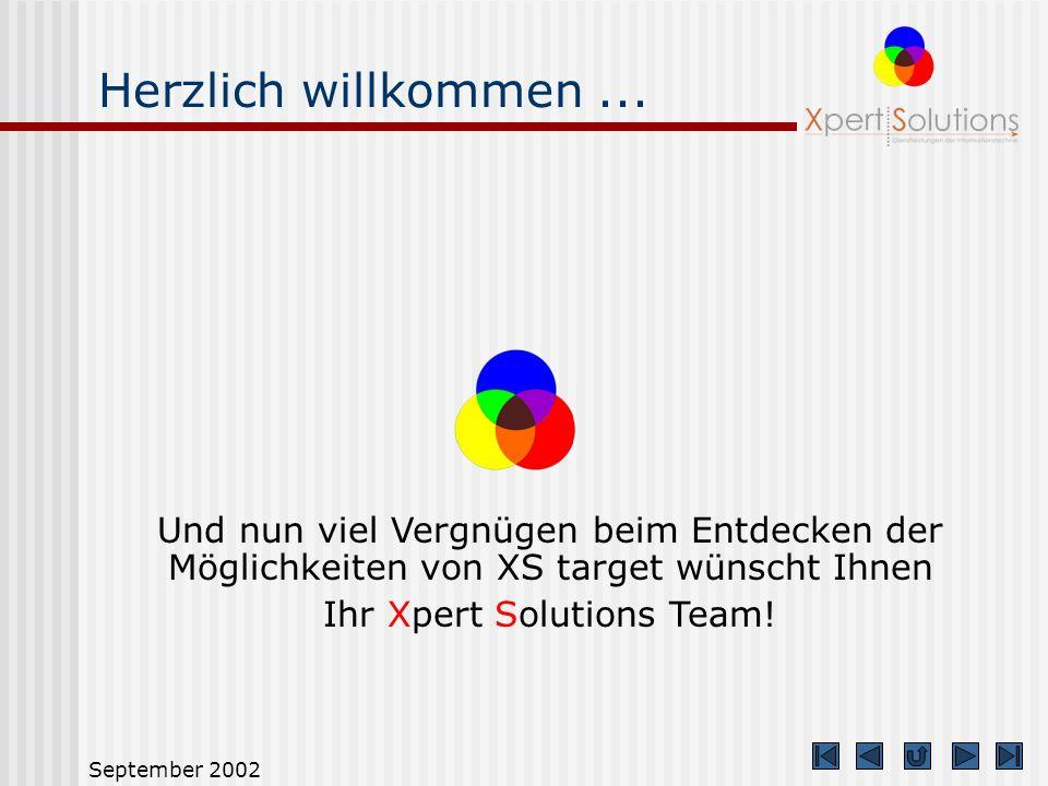 Ihr Xpert Solutions Team!