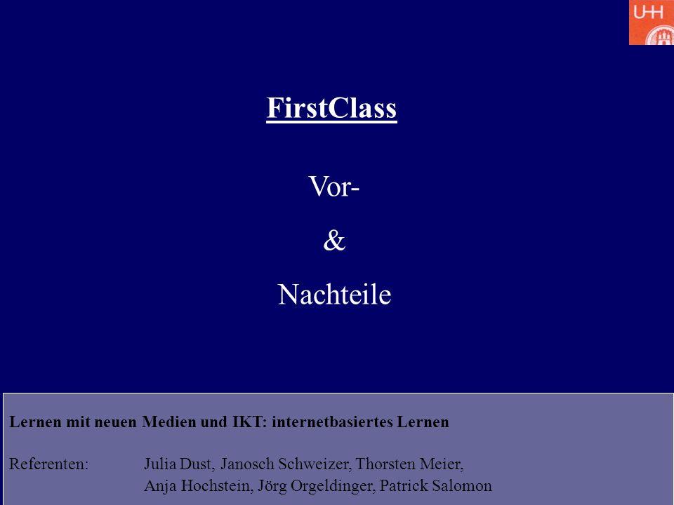 FirstClass Vor- & Nachteile