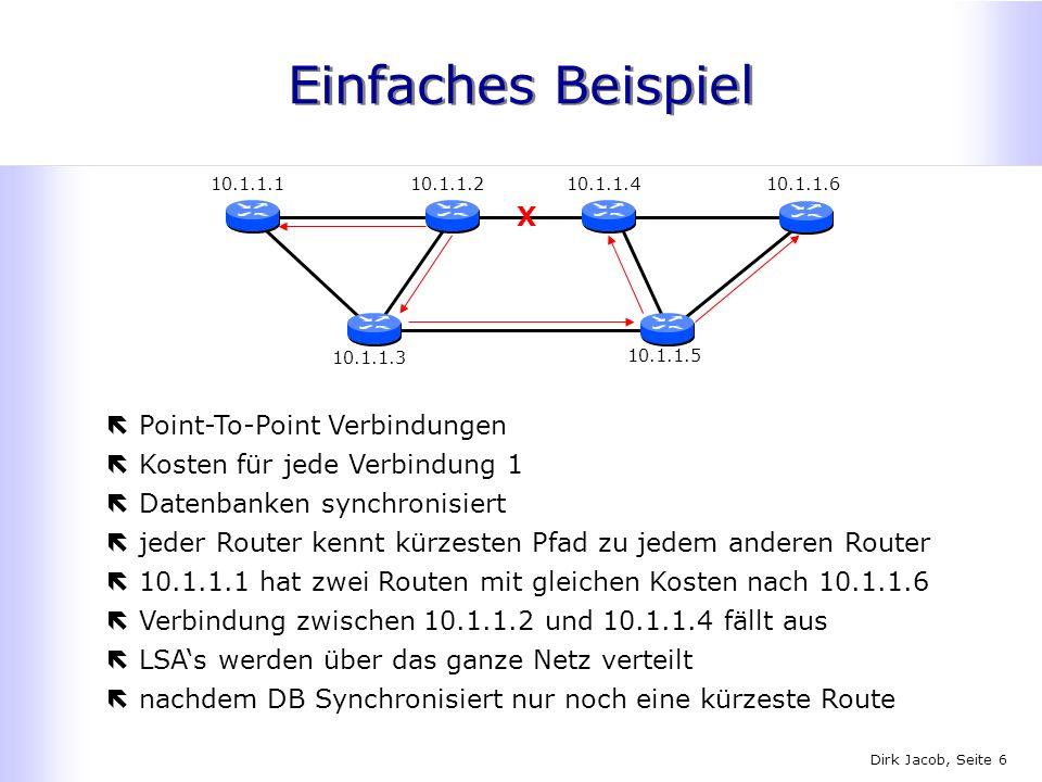 Einfaches Beispiel X Point-To-Point Verbindungen