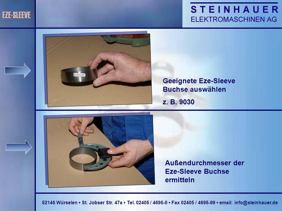 Geeignete Eze-Sleeve Buchse auswählen z. B. 9030