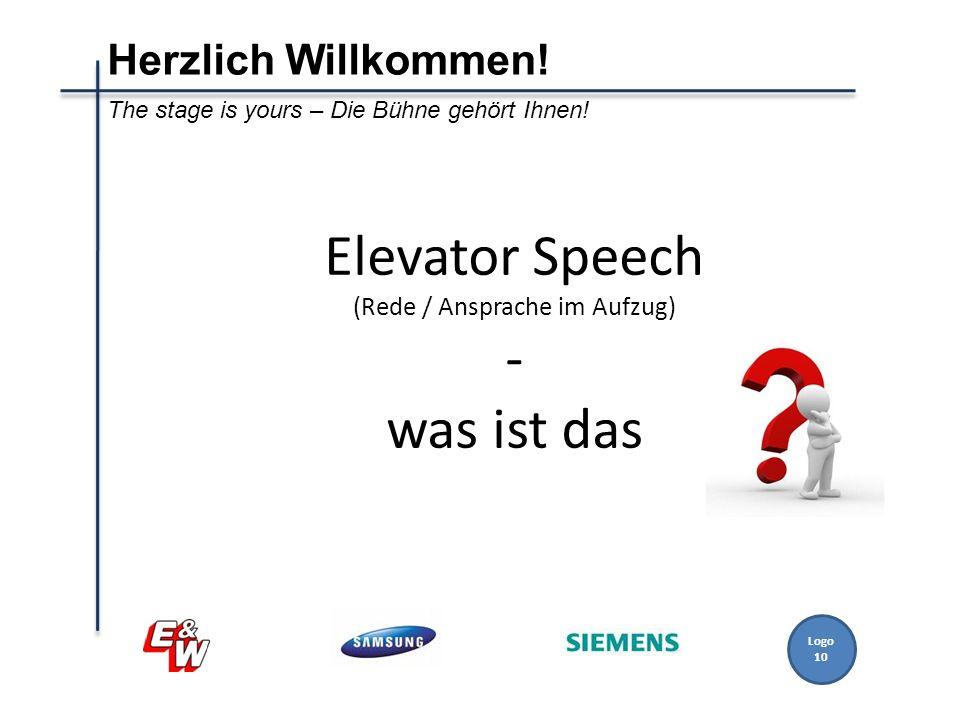 Elevator Speech (Rede / Ansprache im Aufzug) - was ist das