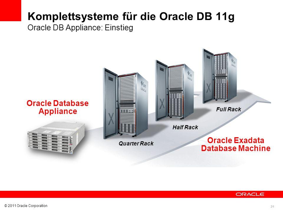 Oracle Exadata Database Machine Oracle Database Appliance