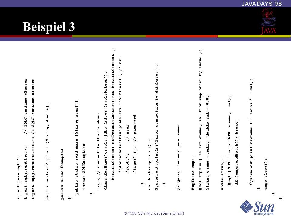Beispiel 3 DefaultContext.setDefaultContext( new DefaultContext (