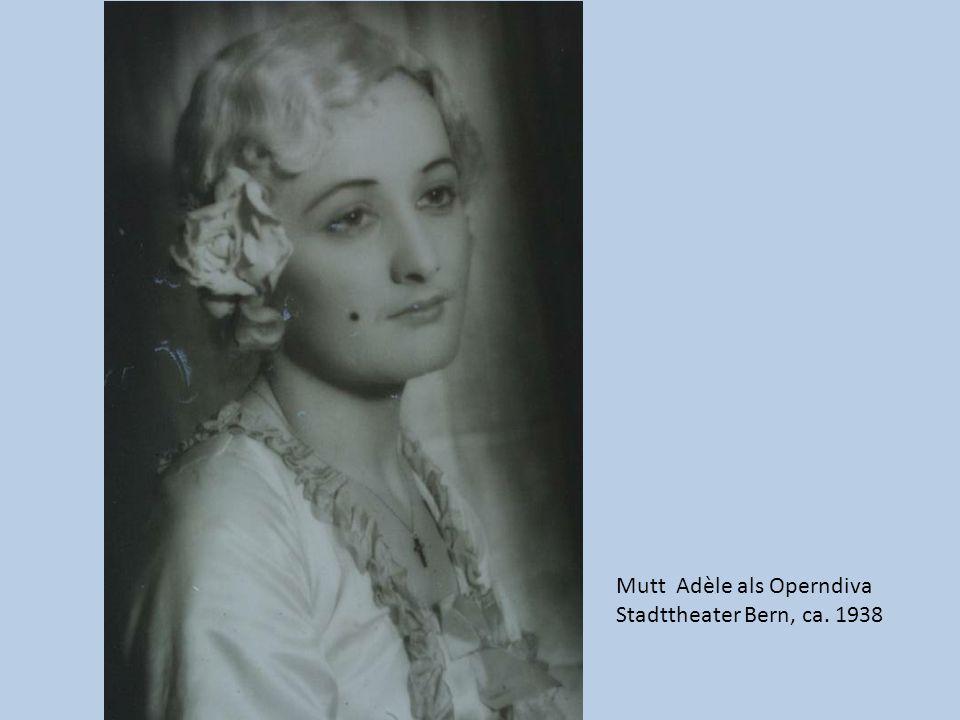 Mutt Adèle als Operndiva