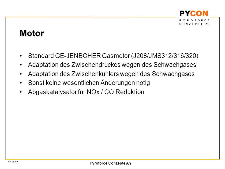 Motor Standard GE-JENBCHER Gasmotor (J208/JMS312/316/320)