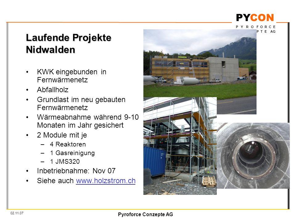 Laufende Projekte Nidwalden
