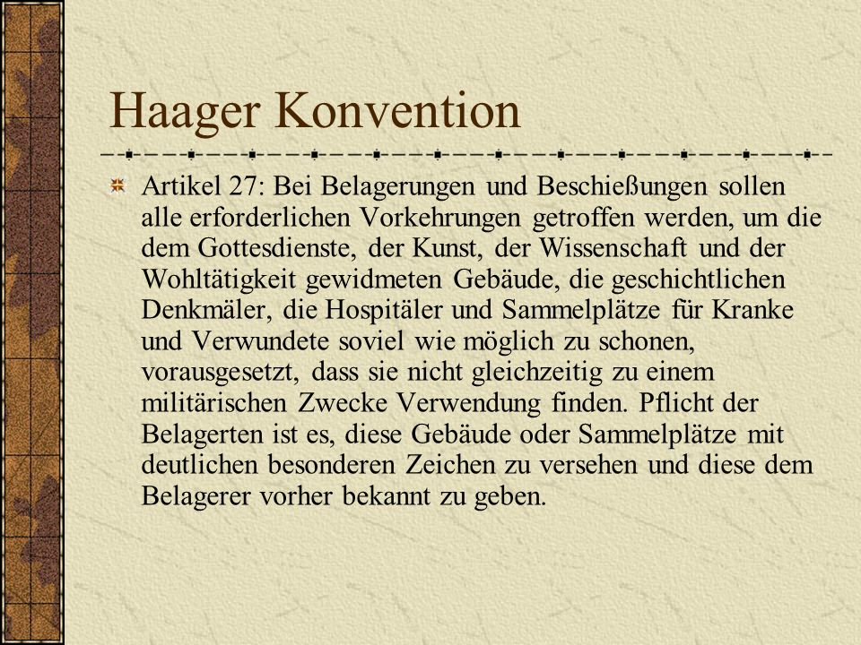 Haager Konvention