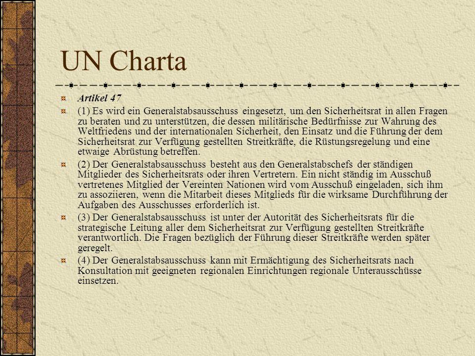 UN Charta Artikel 47.