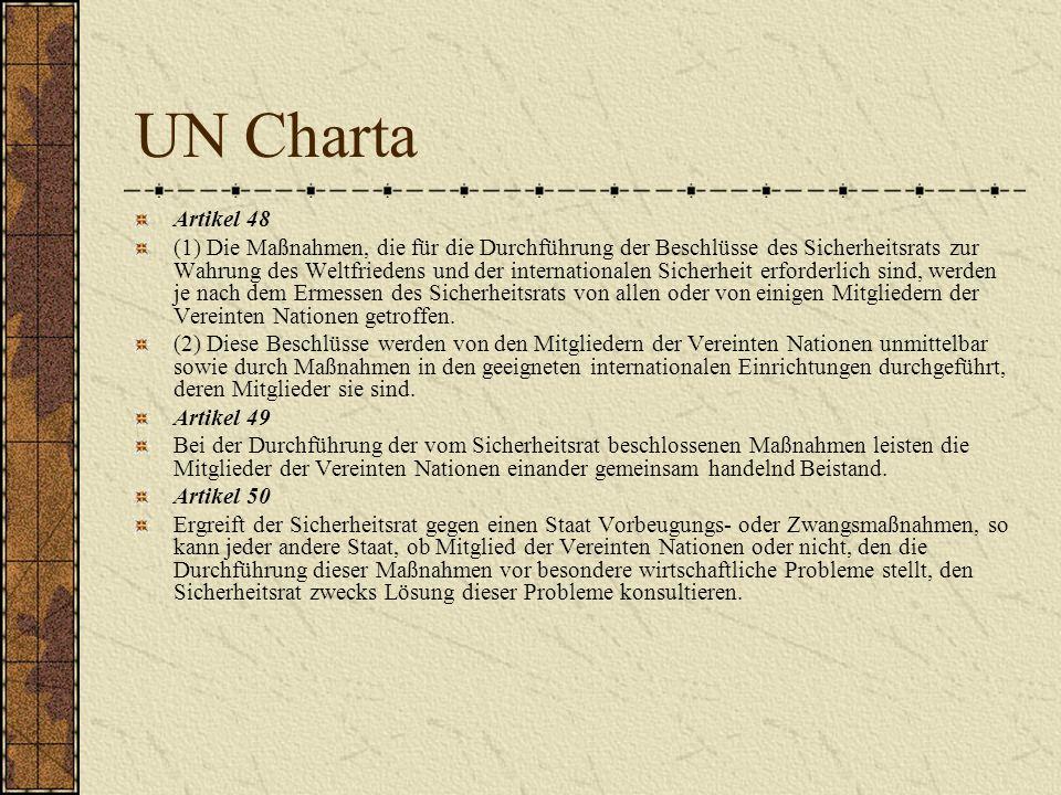 UN Charta Artikel 48.