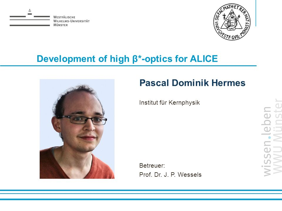 Development of high β*-optics for ALICE