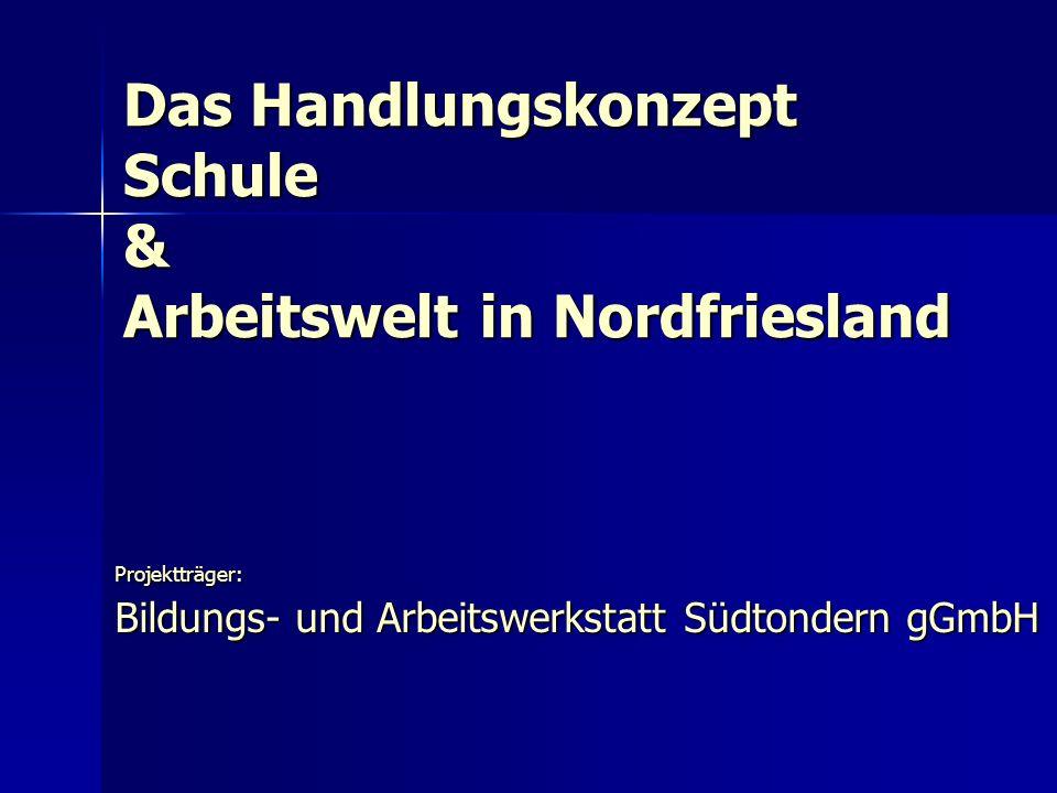 Das Handlungskonzept Schule & Arbeitswelt in Nordfriesland