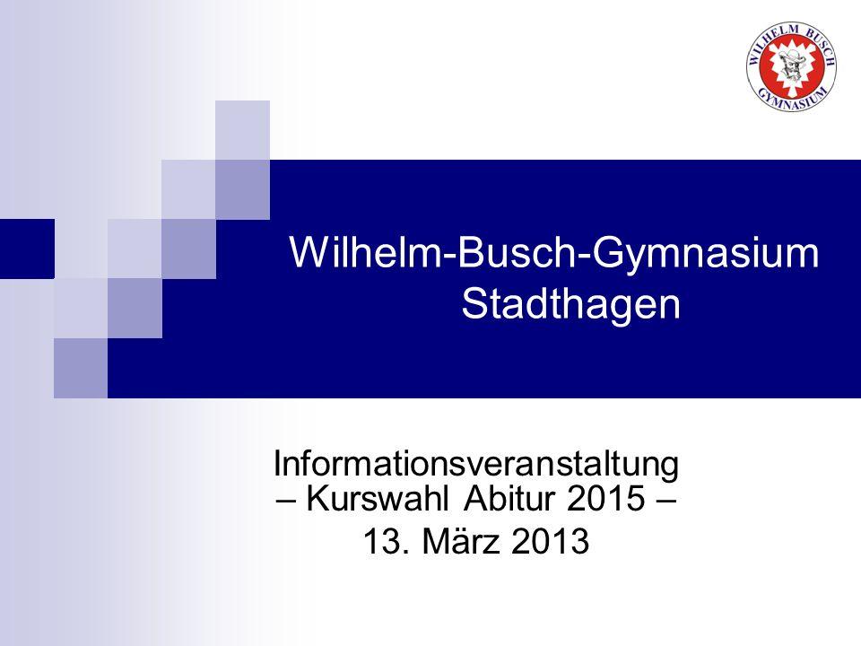 Wilhelm-Busch-Gymnasium Stadthagen