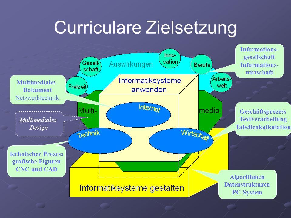 Curriculare Zielsetzung