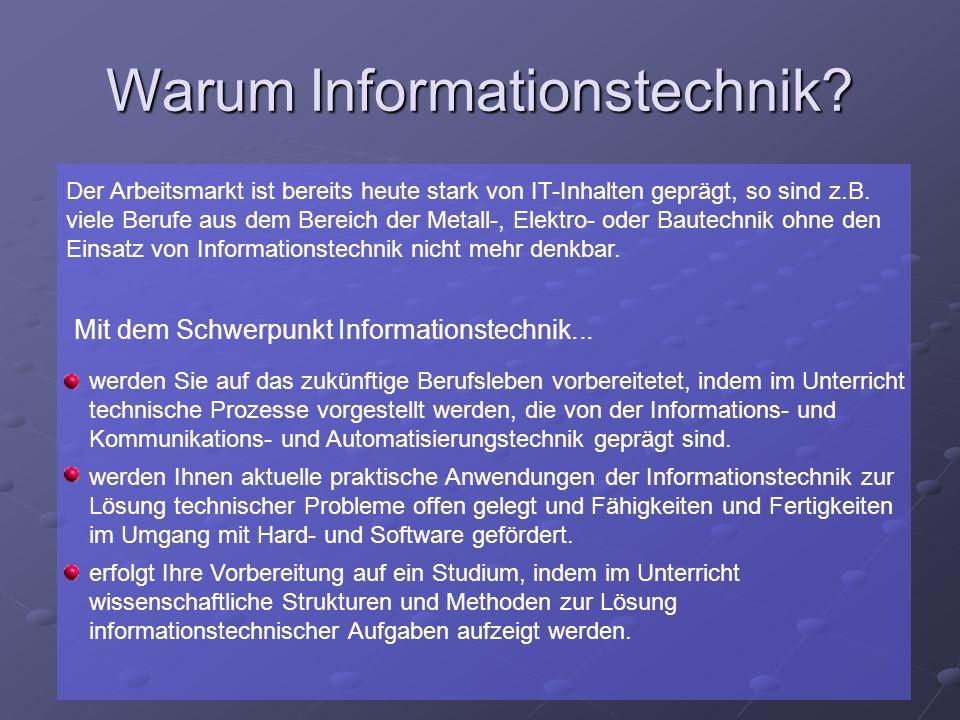 Warum Informationstechnik