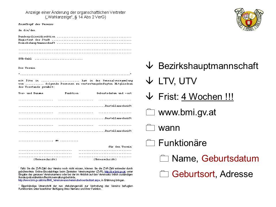 Bezirkshauptmannschaft