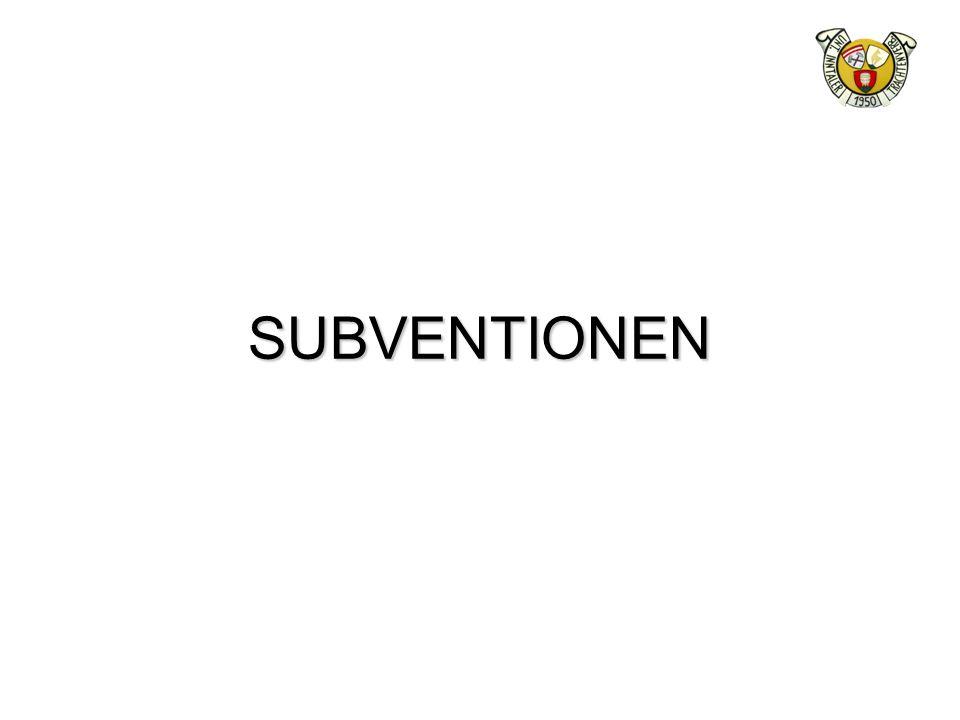 SUBVENTIONEN