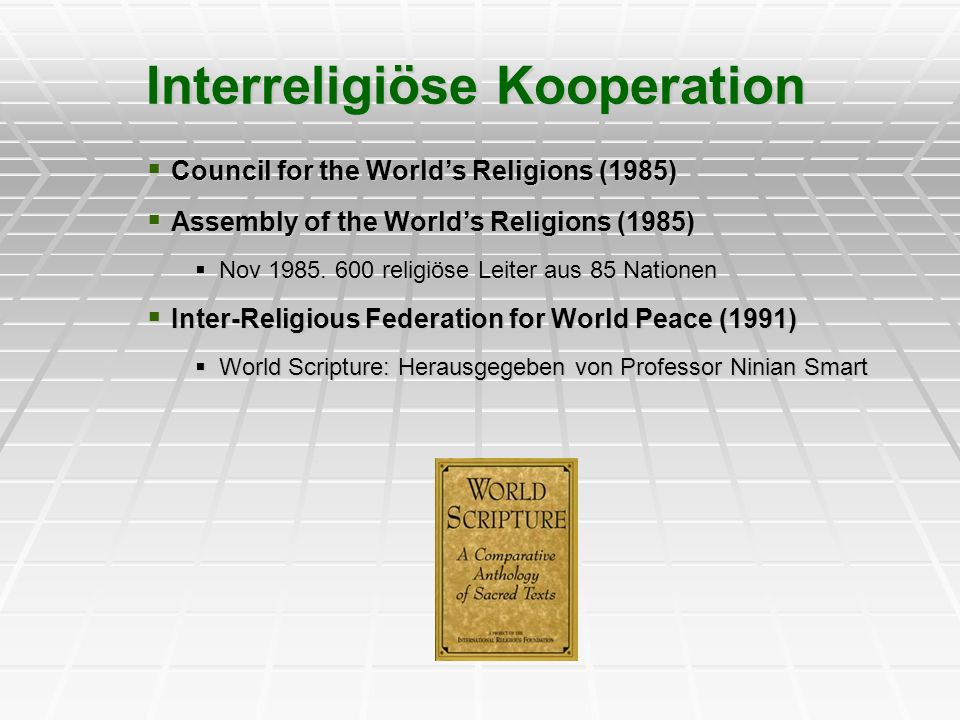 Interreligiöse Kooperation