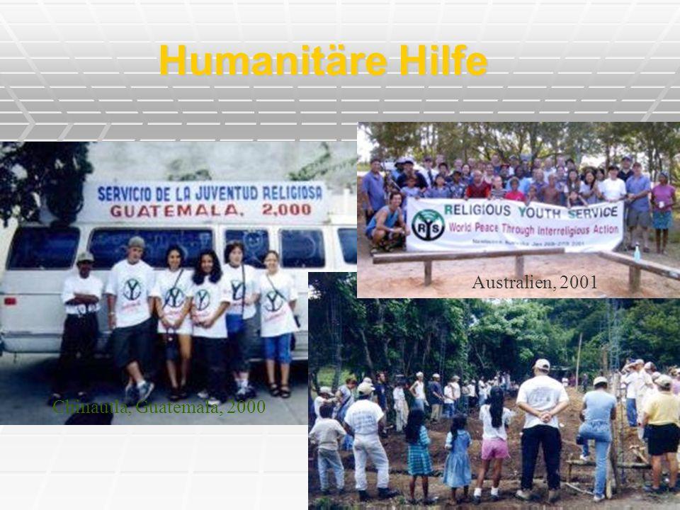 Humanitäre Hilfe Australien, 2001 Chinautla, Guatemala, 2000
