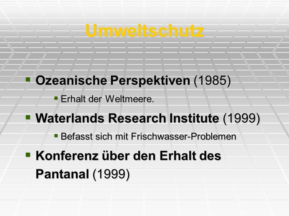 Umweltschutz Ozeanische Perspektiven (1985)