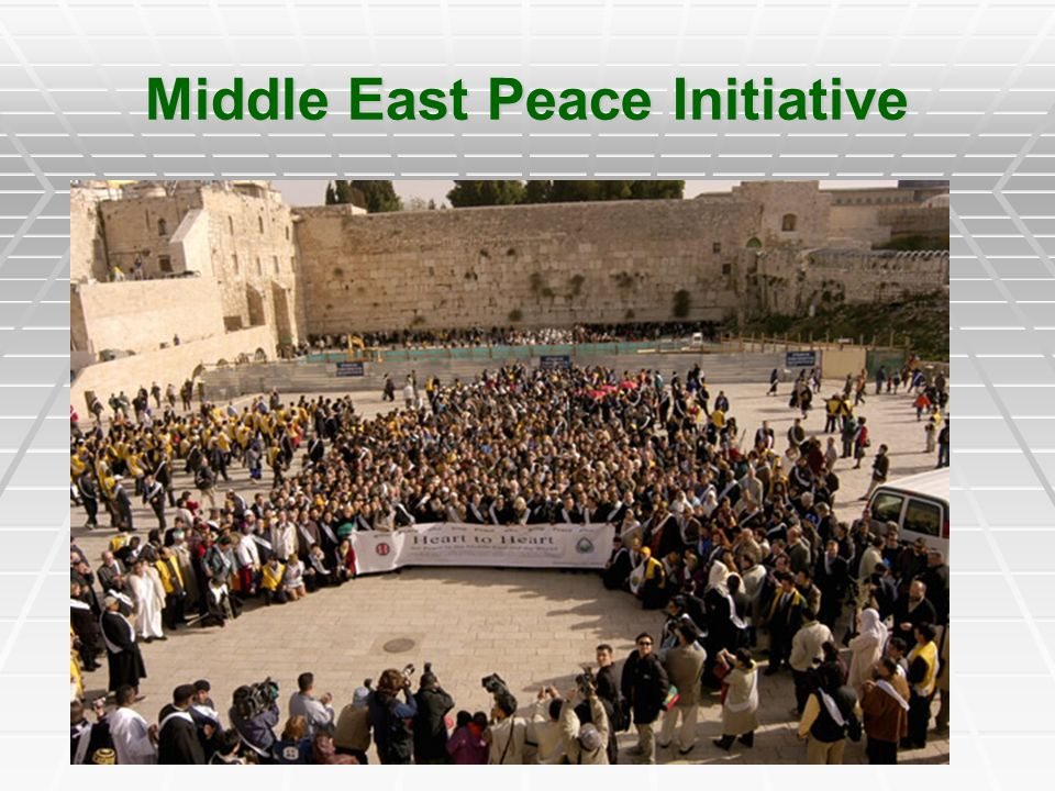 Middle East Peace Initiative