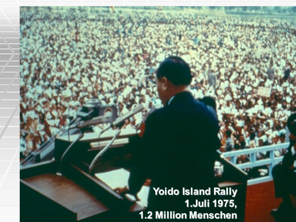 Yoido Island Rally 1.Juli 1975, 1.2 Million Menschen