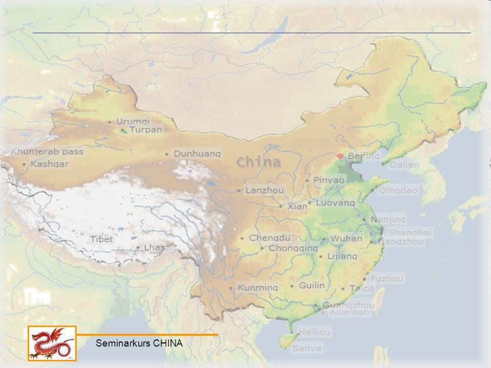 Seminarkurs CHINA
