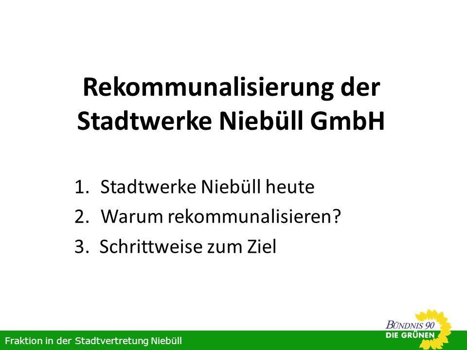 Rekommunalisierung der Stadtwerke Niebüll GmbH