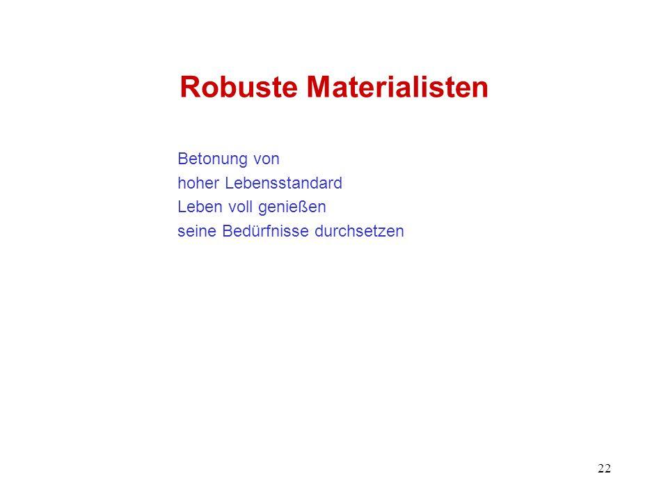 Robuste Materialisten