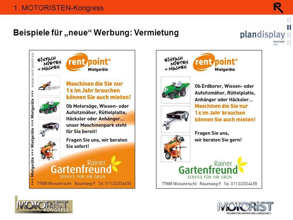 """Beispiele für """"neue Werbung: Vermietung"""
