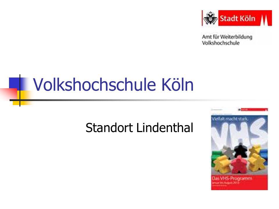Volkshochschule Köln Standort Lindenthal
