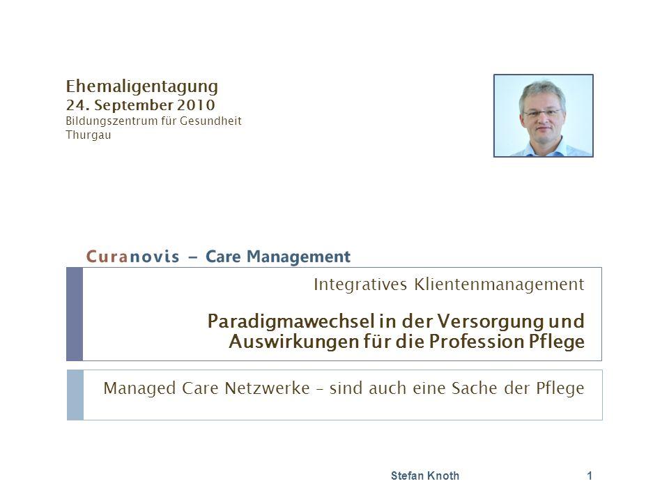 Managed Care Netzwerke – sind auch eine Sache der Pflege