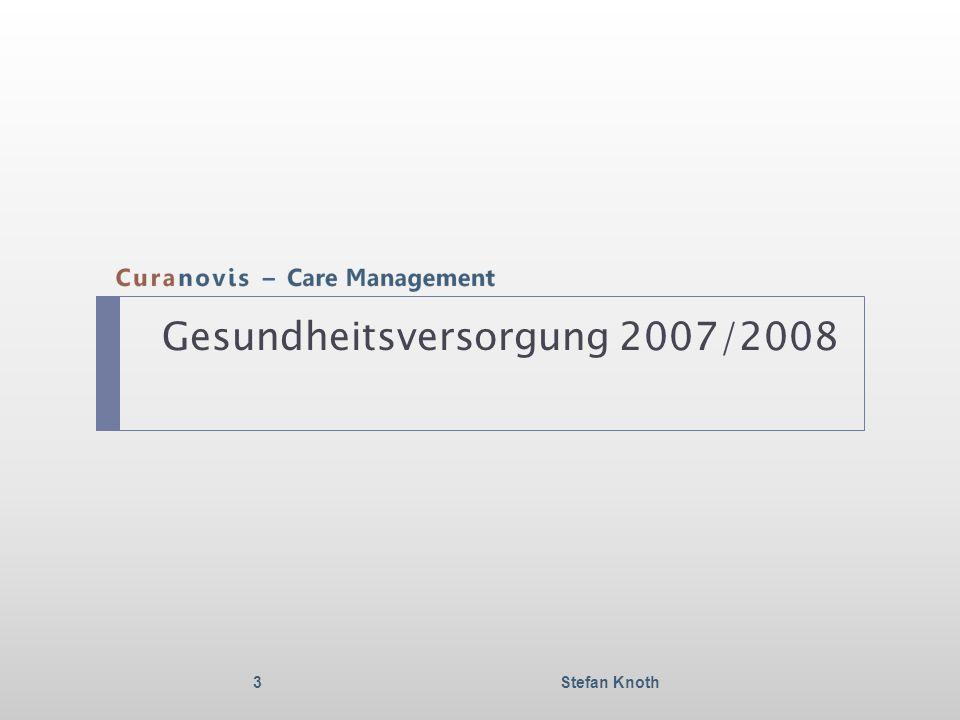 Gesundheitsversorgung 2007/2008