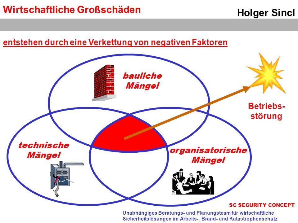 Wirtschaftliche Großschäden Holger Sincl