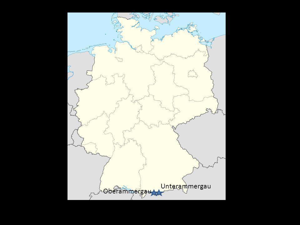 Unterammergau Oberammergau