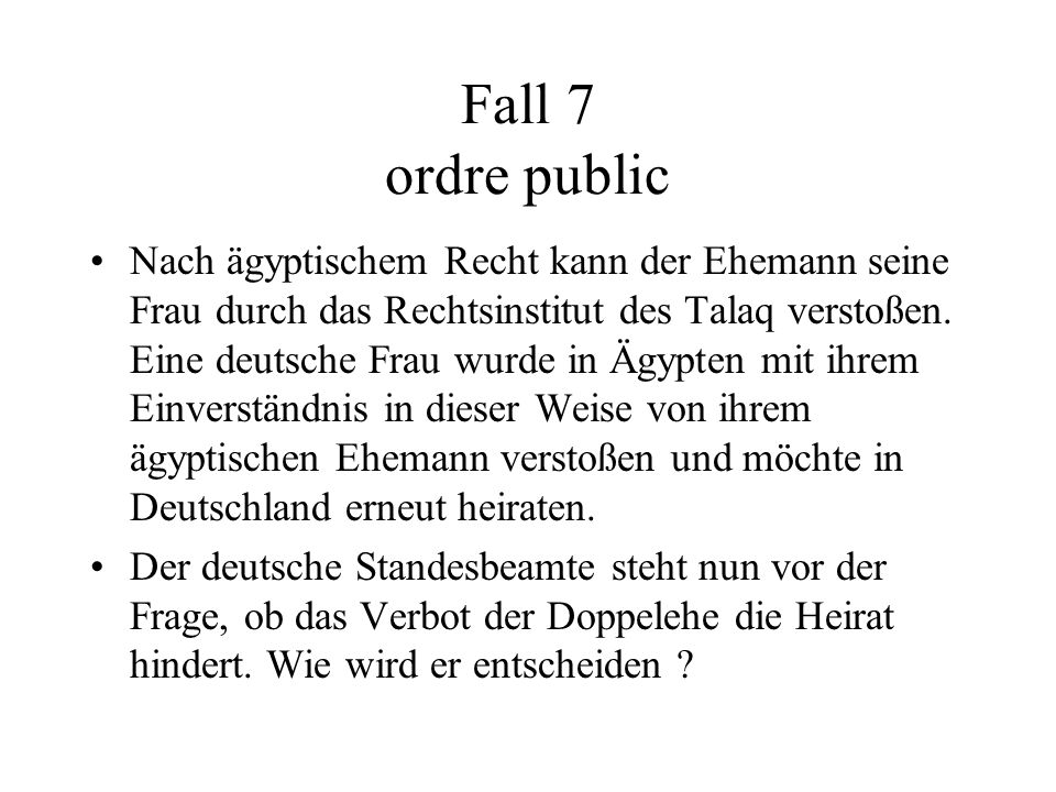 Fall 7 ordre public
