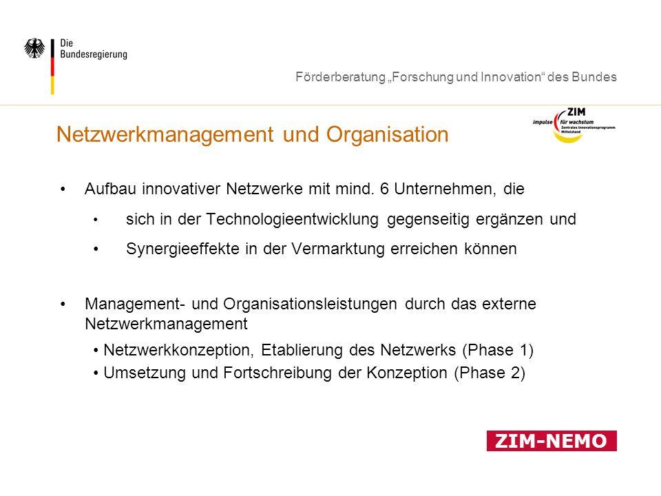 Netzwerkmanagement und Organisation