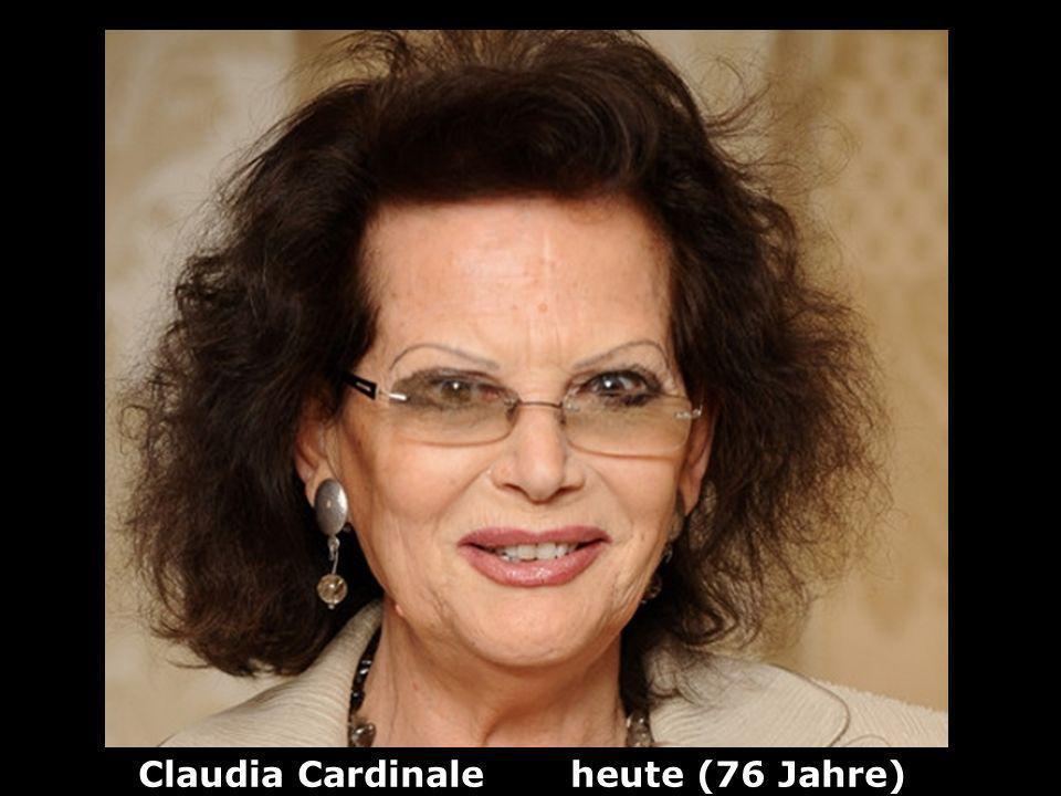 Claudia Cardinale heute (76 Jahre)