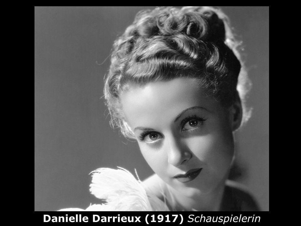 Danielle Darrieux (1917) Schauspielerin