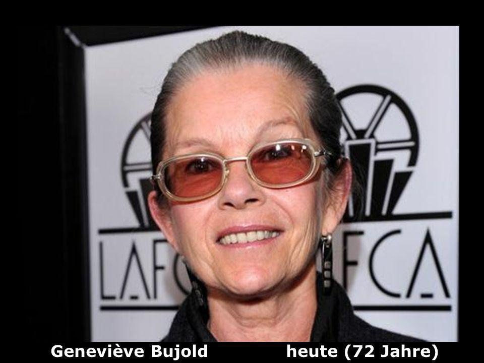 Geneviève Bujold heute (72 Jahre)