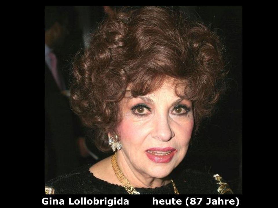 Gina Lollobrigida heute (87 Jahre)