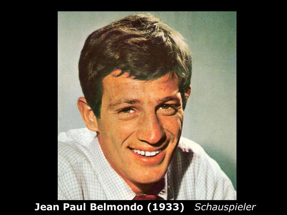 Jean Paul Belmondo (1933) Schauspieler