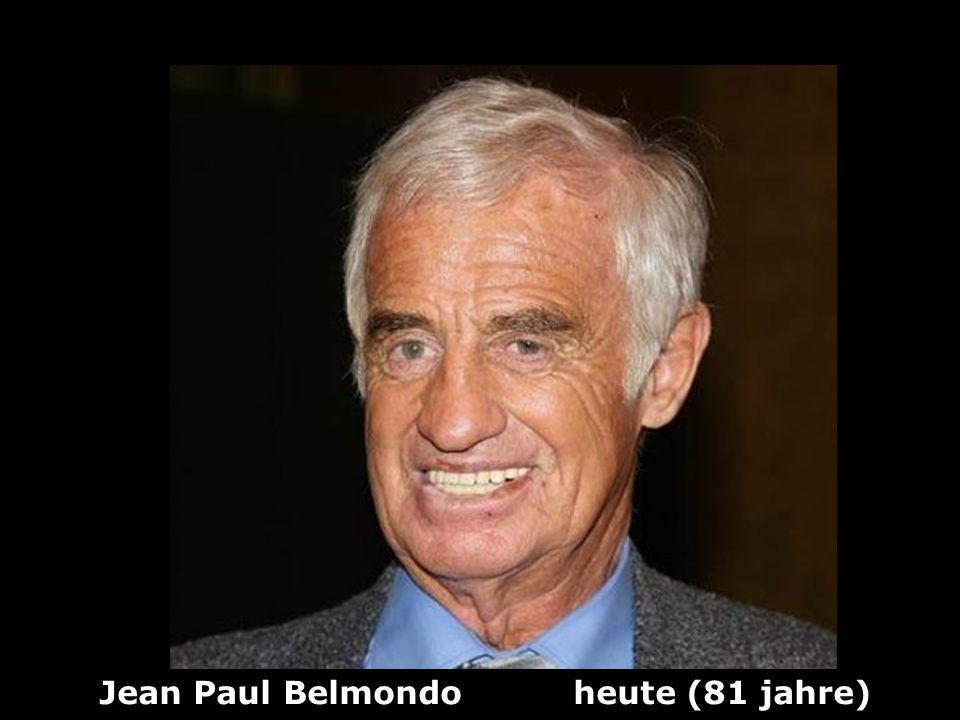 Jean Paul Belmondo heute (81 jahre)